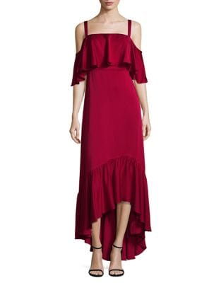 Ruffle Off-the-Shoulder Dress by Jill Jill Stuart