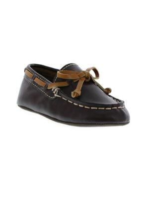 Flexy Leather Boat Shoes