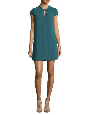 Twist Front Shift Dress by Cynthia Steffe