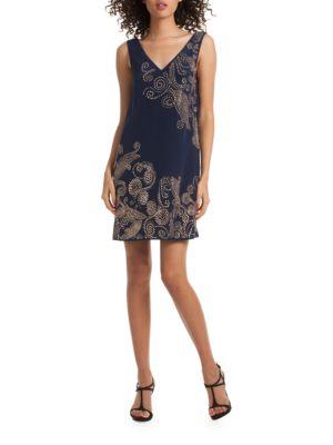 Glitterati Silk Dress by Trina Turk