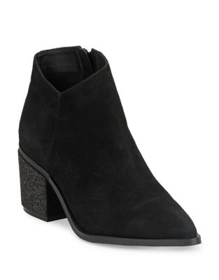 Cue The Music Leather Booties by Kenneth Cole REACTION