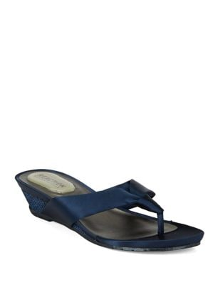 Great Date Satin Thong Sandals by Kenneth Cole REACTION