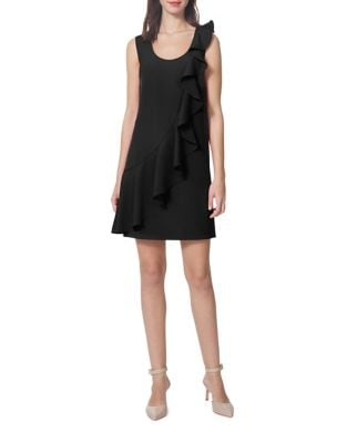 Front Ruffle Dress by Donna Morgan