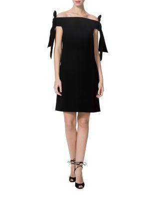 Tie Zip Dress by Donna Morgan
