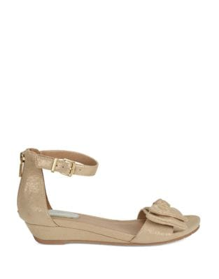 Great Start Metallic Wedge Sandals by Kenneth Cole REACTION