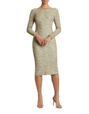 Emery Sequined Midi Dress by Dress The Population
