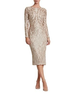 Catalina Sequined Midi Dress by Dress The Population