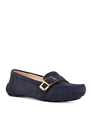 Blueberry Suede Loafers by Nine West