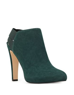 Burke Suede Booties by Nine West