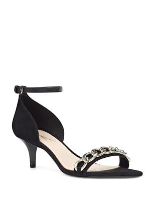 Lioness Isa Kid Suede Sandals by Nine West