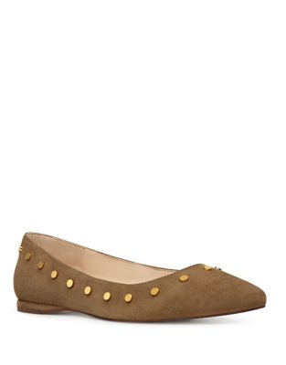 Sigismonda Suede Flats by Nine West