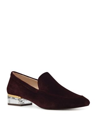 Umissit Velvet Loafers by Nine West