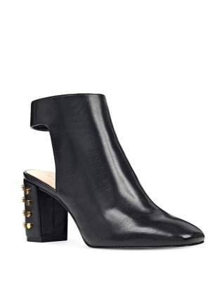Xtravert Studded Leather Booties by Nine West