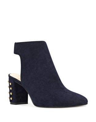 Xtravert Studded Suede Booties by Nine West