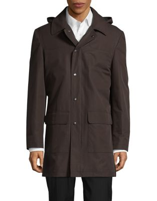 Lowell Hooded Zip-Front...