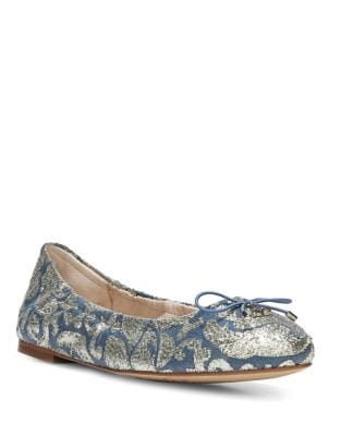 Printed Ballet Flats by Sam Edelman
