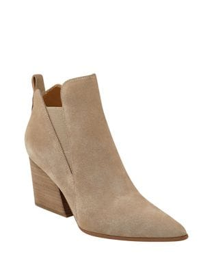Fox Point Toe Suede Booties by KENDALL + KYLIE