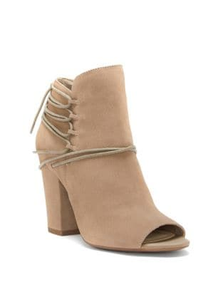 Remni Nubuck Leather Booties by Jessica Simpson