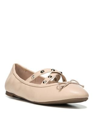 Cayenne Leather Stud Ballet Flats by Circus by Sam Edelman
