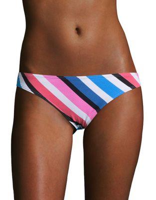 Seaside Striped Hipster Bikini Bottom by Design Lab Lord & Taylor