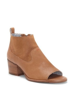 Traison Leather Booties by Ed Ellen Degeneres