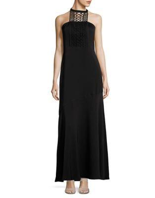 Essex Satin Gown by Shoshanna