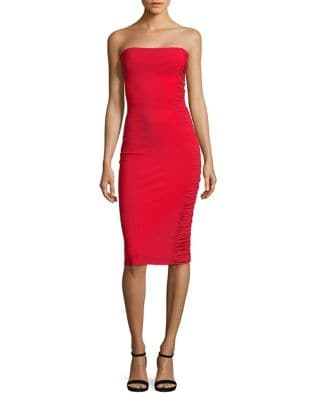 Ruched Panel Bodycon Dress by Chiara Boni La Petite Robe