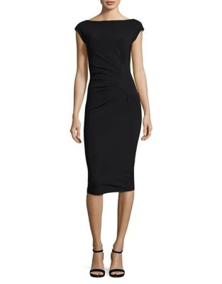 Sunburst Pleated Sheath Dress by La Petite Robe di Chiara Boni
