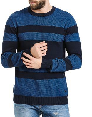 Total Eclipse Striped Cotton Sweatshirt 500087214143