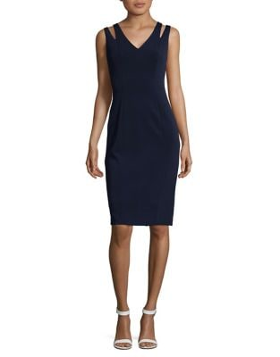 Cutout Sheath Dress by Vince Camuto