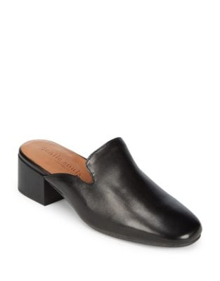 Eida Leather Mules by Gentle Souls
