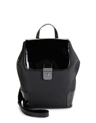Patent Leather Backpack...