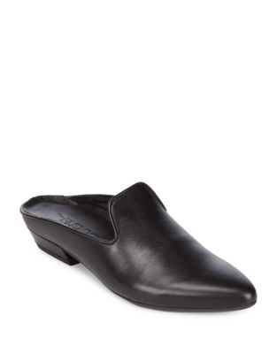 Sisley Leather Mules by The Flexx