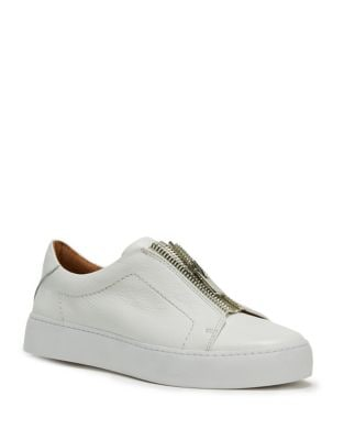 Lena Zip Leather Sneakers by Frye