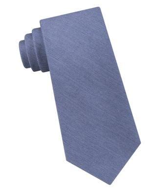 Silk Tonal Tie by Calvin Klein