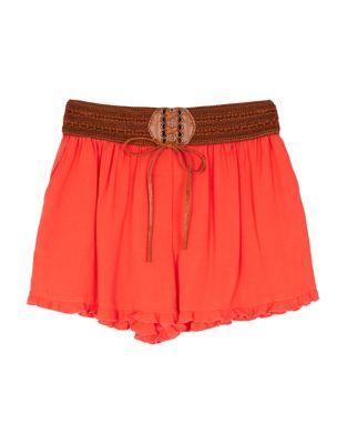 Braided Waist Shorts...