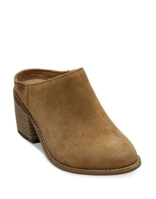 Leila Suede Mules by TOMS