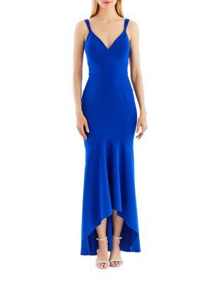 Hi-Lo Hem Gown by Nicole Miller New York