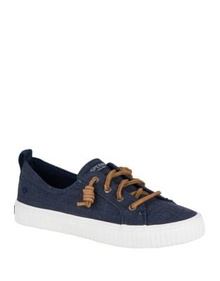 Crest Vibe Creeper Textured Sneakers by Sperry