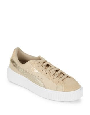 Lace-Up Suede Sneakers by PUMA