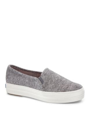 Triple Decker Slip-On Sneakers by Keds