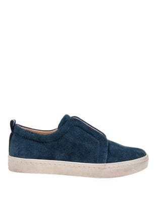 Dagny Suede Slip-On Sneakers by Splendid