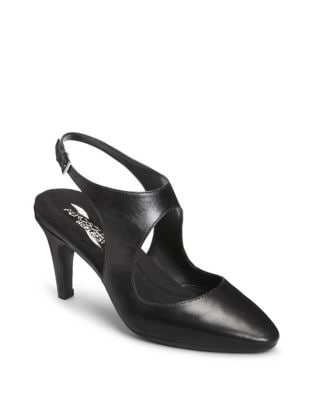 Example Slingback Leather Pumps by Aerosoles