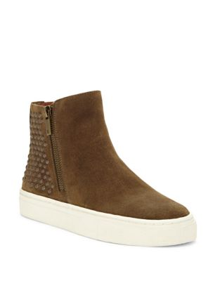 Bayleah Suede High-Top Sneakers by Lucky Brand