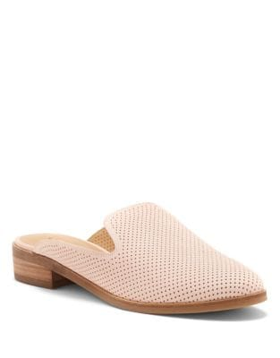Christley Nubuck Leather Mules by Lucky Brand