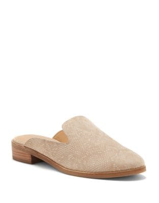 Christley Round Toe Leather Mules by Lucky Brand