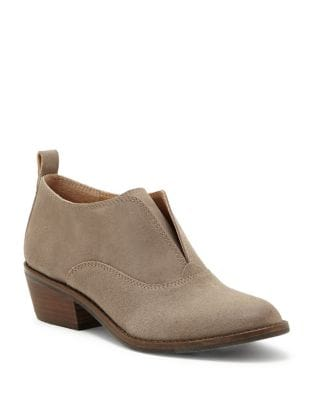Fimberly Suede Slip On Booties by Lucky Brand