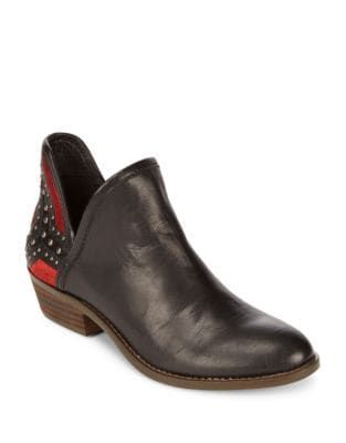 Kambry Studded Leather Ankle Boots by Lucky Brand