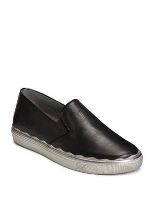 Millionaire Leather Slip-On Sneakers by Aerosoles