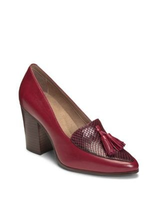 Times Square Leather Pumps by Aerosoles